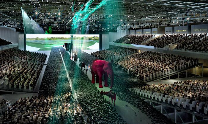 OMA postaví uToulouse gigantický výstavní park