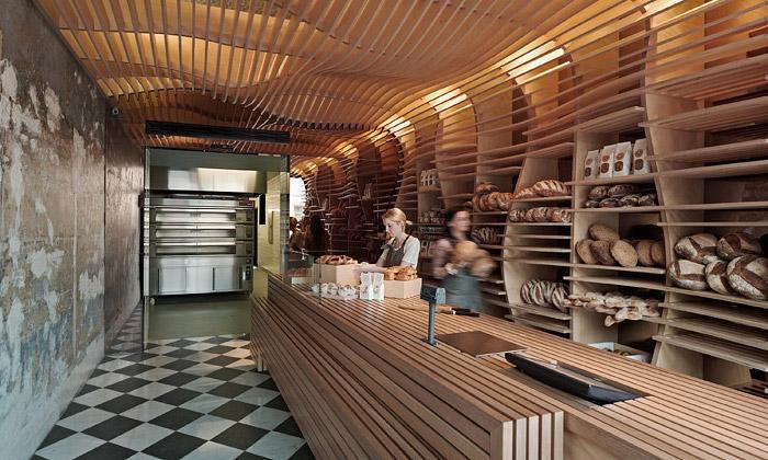Pekařstvím Baker D. Chirico seplazí dřevěná vlna