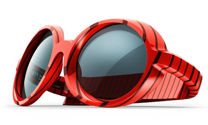 Ron Arad navrhl famózní kolekce brýlí PQEyewear