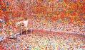 Yayoi Kusama ajejí pokoj The Obliteration Room vQueensland Art Gallery