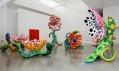 Yayoi Kusama a její další díla vystavená v Queensland Art Gallery