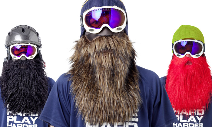 Beardski jsou chrániče obličeje sdlouhými vousy