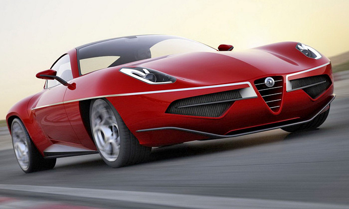 Superleggera Disco Volante 2012 poctou Alfě Romeo
