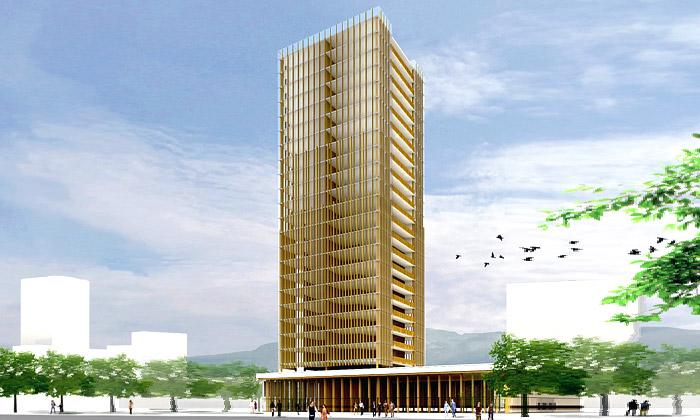 Vancouver postaví 30ti patrový mrakodrap ze dřeva