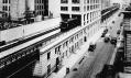 Historická fotografie High Line v New Yorku na Manhattanu