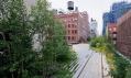 Předešlé dvě realizované části High Line v New Yorku na Manhattanu