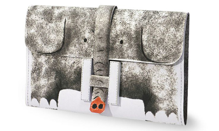 Kabelka Hermès Jigé v šesti výtvarně pojatých motivech
