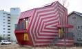 Dům s tvarem i barvami lízátka od Moon Hoon v Giheung-gu v Jižní Koreji