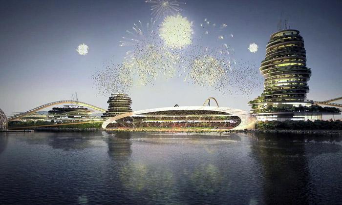 Real Madrid si postaví umělý ostrov Resort Island