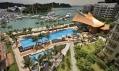 Reflections od Daniela Libeskinda v přístavu Keppel Bay v Singapuru