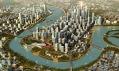 Další velké projekty SOM - Urbanistický návrh městské části Tianjin Tanggu