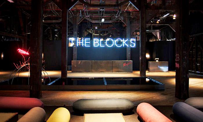 Sydney otevřelo vhangáru stylový klub The Blocks