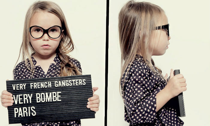 Very French Gangsters jsou stylové brýle pro děti