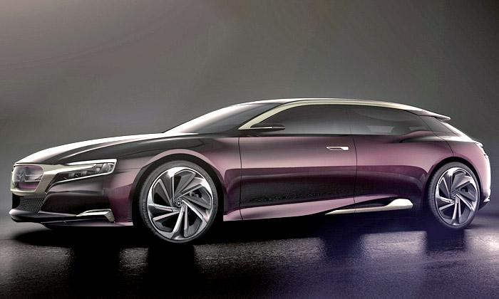 Citroën Numéro 9 jeprestižní koncept zřady DS