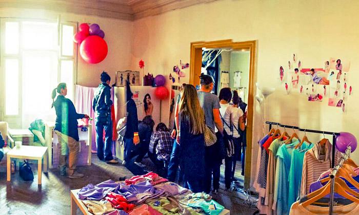Code Mode sestal oděvním festivalem vpokojích