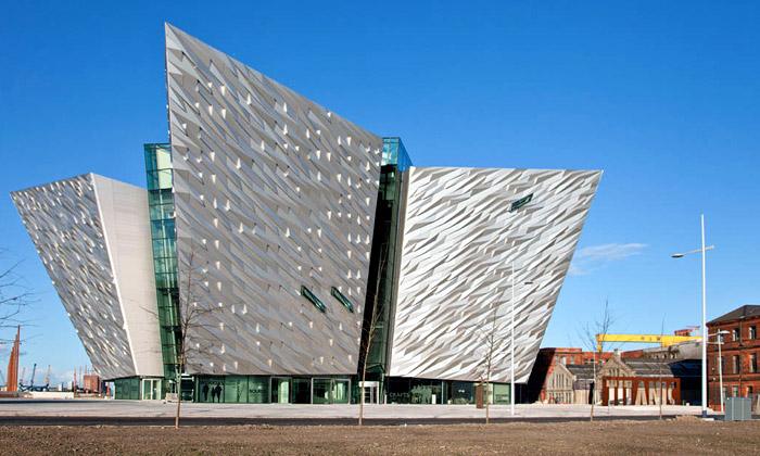 V irském Belfastu bylo otevřeno muzeum Titaniku