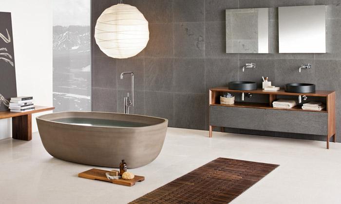 Neutra přivádí sérií koupelen Zen člověka kpřírodě
