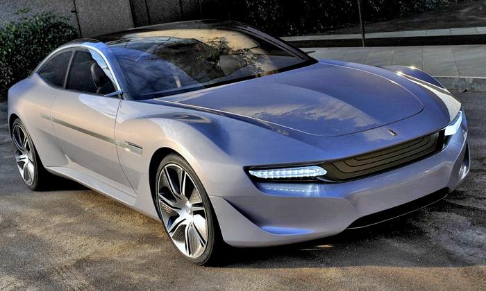 Pininfarina představila elektrický sporťák Cambiano