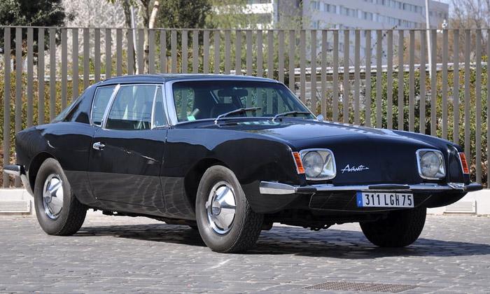Studebaker Avanti Coupé míří poprvé doaukce