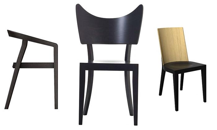 Ton přivezl naveletrh doMilána hned tři nové židle