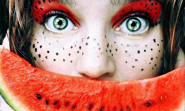 Cristina Otero nafotila ovocné snímky Tutti Frutti