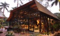 Další tvorba z bambusu od studia Vo Trong Nghia