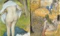 Ukázka z výstavy Degas a nahota v Musée d'Orsay v Paříži