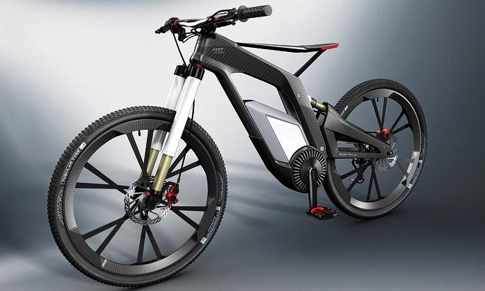 Audi ukázalo e-bike Wörthersee napojený namobil