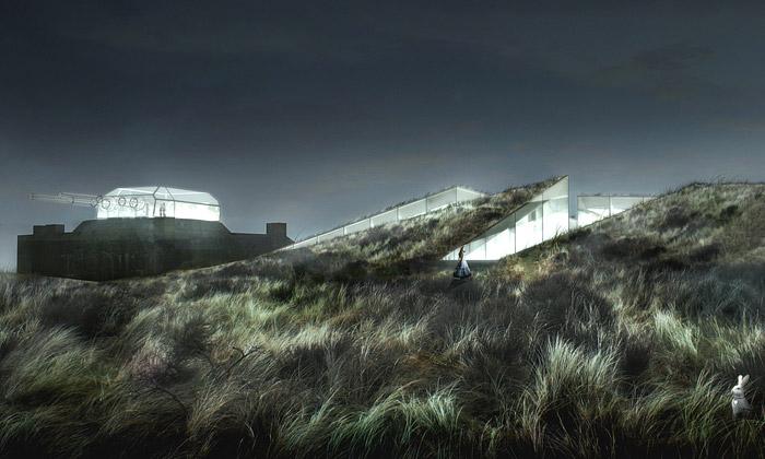 BIG postaví dánské muzeum ubunkru vpodzemí