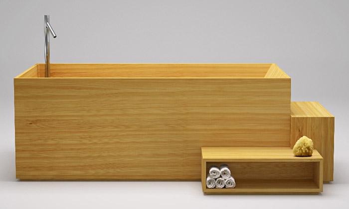 Bisazza má dřevěný koupelnový nábytek odNendo