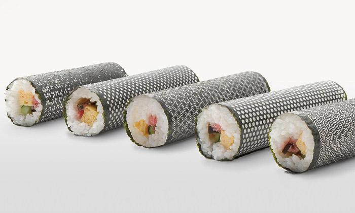 Design Nori dělá zobyčejného sushi umělecké dílo