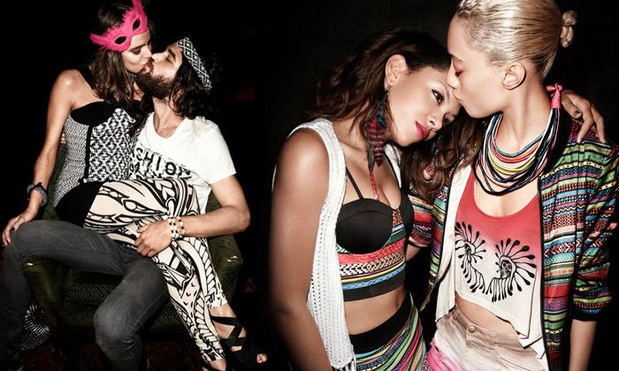 Pátá módní kolekce H&M proti AIDS jevprodeji