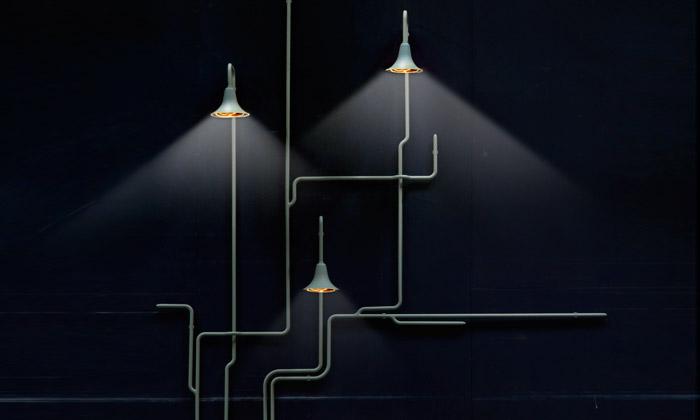 Ontwerpduo navrhlo svítidla tvořící světelný les