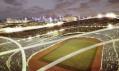Addis Abeba národní stadion a sportovní vesnice v Etiopii od LAVA