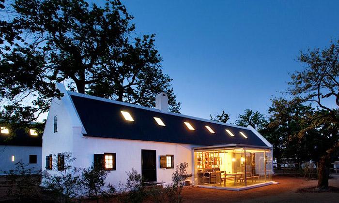 Jihoafrická farma Babylonstoren jemalý ráj nazemi