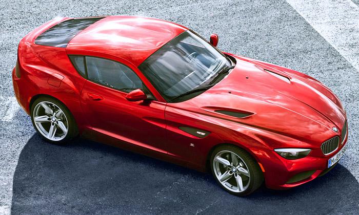 BMW Zagato Coupé jesportovní vůz vitalském stylu