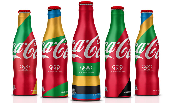 Coca-Cola má naolympiádu speciálně zdobené láhve