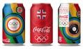Grafické zdobení produktů Coca-Cola pro Letní olympijské hry Londýn 2012