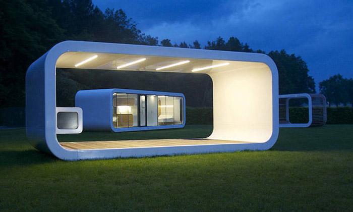 Prefabrikované domy Coodo nabízí moderní bydlení