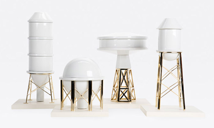 Gentle Giants tvoří vázy podle industriálních staveb