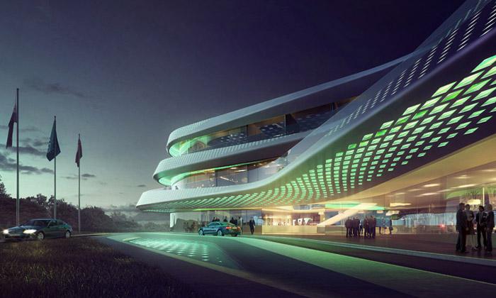 LAVA navrhli eko budovu pro Zelený klimatický fond