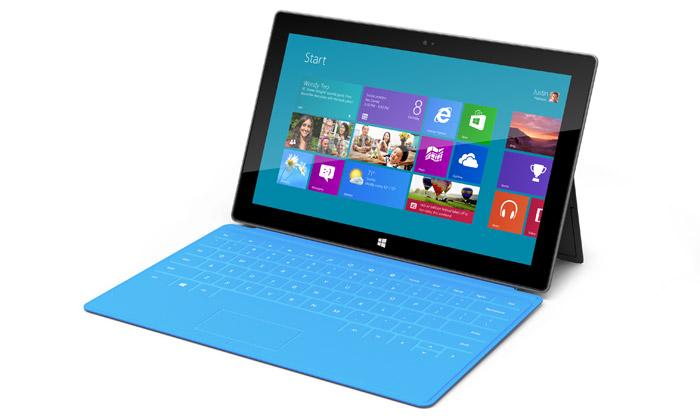 Microsoft Surface jezároveň tenký počítač itablet