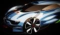 Sportovní vůz Renault Alpine A110-50 k 50 výročí modelu Alpine A110