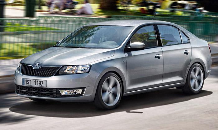 Škoda Rapid jeprvní vůz Škoda vnovém designu