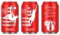 Plechovky Coca-Cola odTurner Duckworth pro londýnskou olympiádu 2012