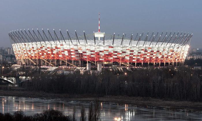 Varšavský národní stadion jenovou chloubou města
