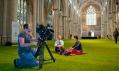 Yorská katedrála pokrytá trávníkem v podání Wow Grass