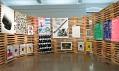 Pohled doexpozice 25.mezinárodní bienále grafického designu Brno 2012