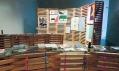 Pohled do expozice 25. mezinárodní bienále grafického designu Brno 2012