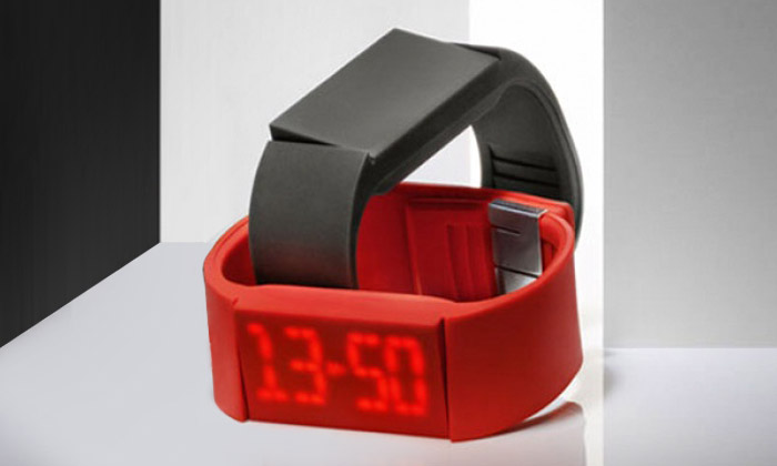 Švédské dotykové hodinky Mutewatch s minimalistickým designem